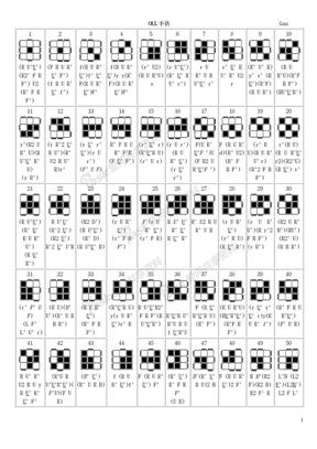 gan's_f2l_oll_pll(08.08.25更新了OLL17)魔方高级玩法.doc