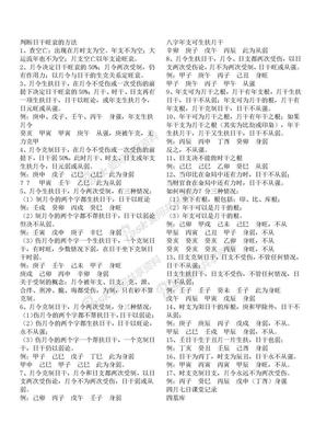 (祝国英)判断日干旺衰的方法.doc