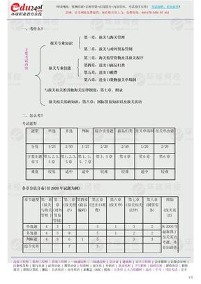 海关考试内容.doc