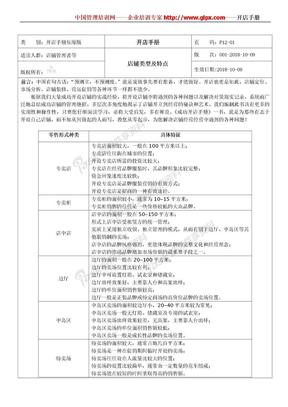 开店管理制度开店手册.doc