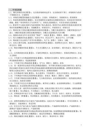 自考财政与金融笔记.doc