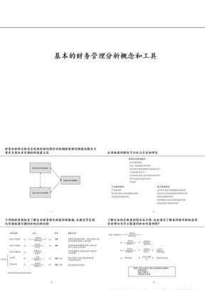 基本的财务管理分析概念和工具.ppt