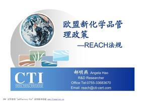 欧盟新化学品管 Reach法规.pdf