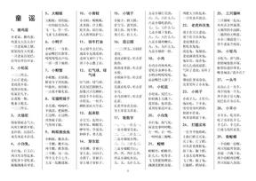 精挑细选,童谣55首,超级经典!.docx