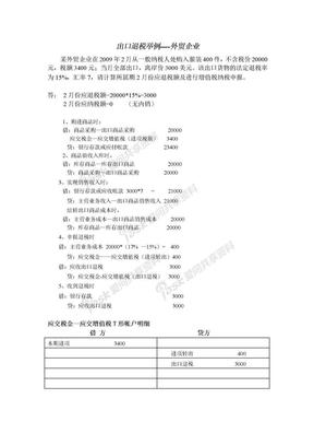 20110218出口退税举例----外贸企业.doc