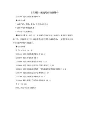 [资料]一级建造师经济课件.doc
