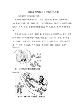 秦医缓和与病入膏肓的历史故事.doc