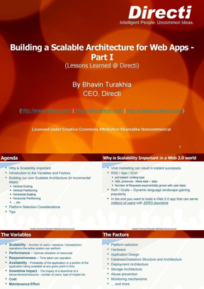 Building a Scalable Architecture for Web Apps.ppt