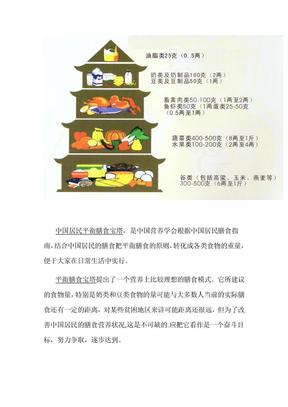 中国居民平衡膳食宝塔.doc