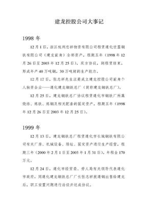 建龙集团大事记(1998~2004).doc