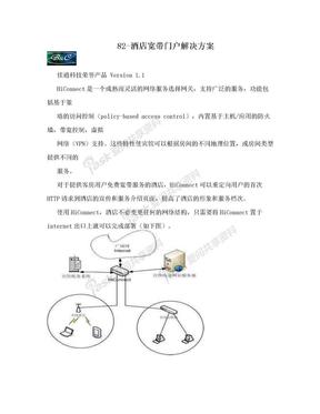 82-酒店宽带门户解决方案.doc