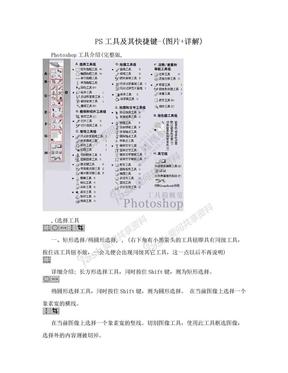 PS工具及其快捷键-(图片+详解).doc