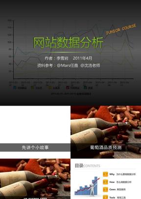 网站数据分析[新浪网络学院讲义]_李雪岩_2011.4.17.ppt