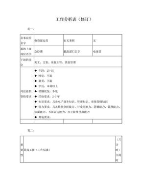 电商运营工作分析表.doc