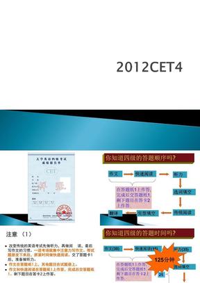2012全国大学英语四级辅导讲座课件第一讲.ppt