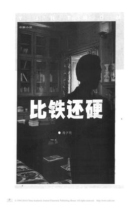 杨少衡官场小说:比铁还硬.pdf