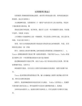 以图搜图[精品].doc