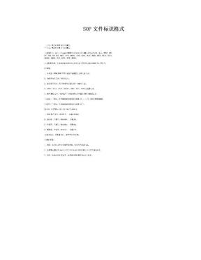 SOP文件标识格式.doc