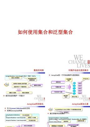 如何使用泛型与泛型集合.ppt