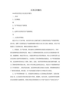 自查自纠报告.doc