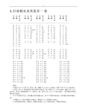 新版中日交流标准日本语全笔记.doc