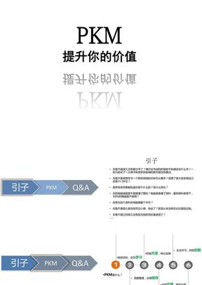 PKM-个人知识管理.ppt