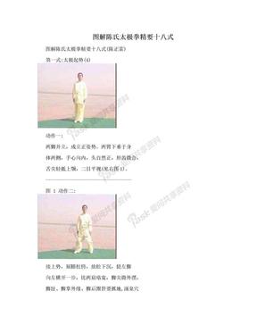 图解陈氏太极拳精要十八式.doc