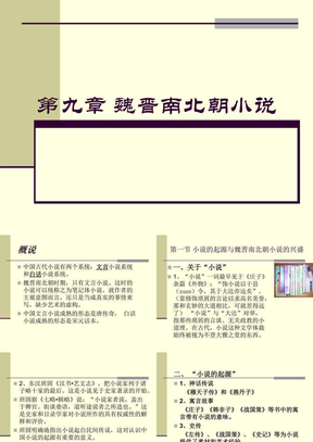 第九章_魏晋南北朝小说.ppt