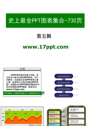 【极品PPT模板】史上最全(730页)的PPT模板图表素材集合之5(共六辑).ppt