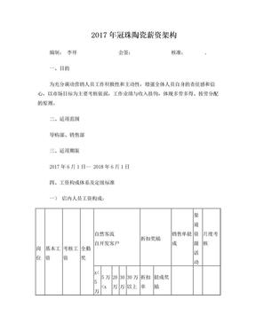 冠珠陶瓷薪资管理办法最新版.doc