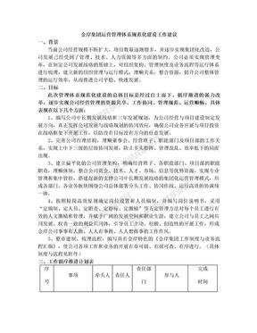公司运营管理体系建设建议.doc