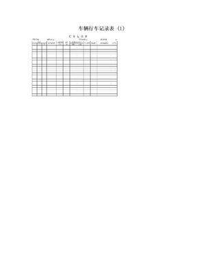 车辆行车记录表 (1).doc