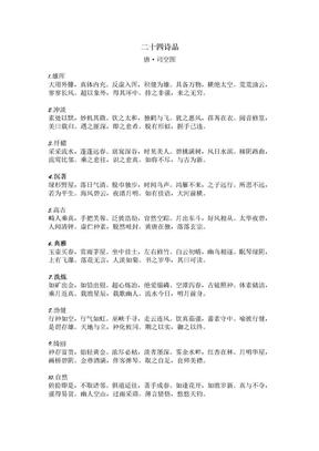 二十四诗品.doc