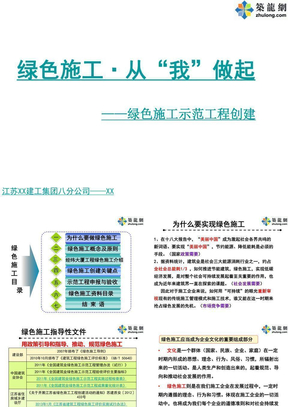 创建绿色施工示范工程施工技术培训课件.ppt