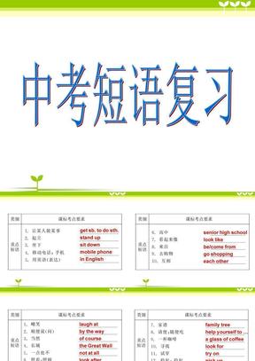 中考短语复习.ppt