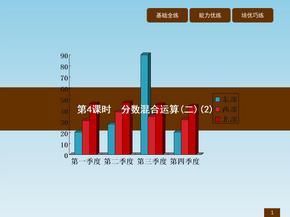 六年级上册数学作业讲析课件-2.4分数混合运算(二)(2)北师大版(2014秋) (共7张PPT).ppt