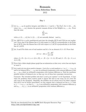 2012年罗马尼亚数学国家集训队测试题.pdf