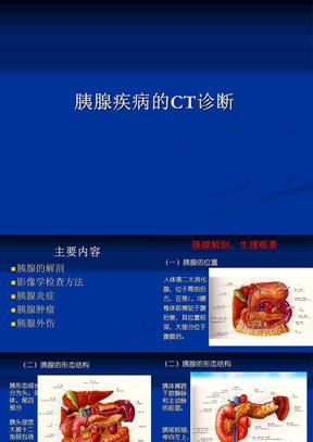 胰腺疾病的CT诊断.ppt