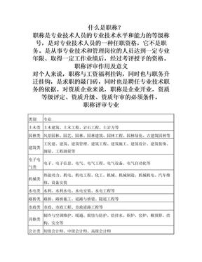 中级工程师职称评定条件(详解).doc