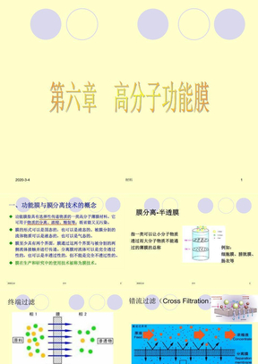 第六章_高分子功能膜.ppt