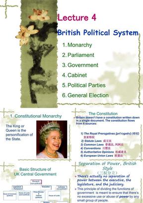 UK 4 British Political System.ppt