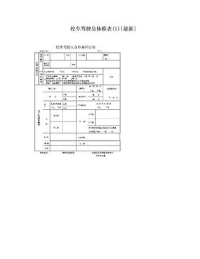 校车驾驶员体检表(1)[最新].doc