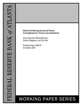 马尔科夫区制转移结构向量自回归:理论及应用.pdf