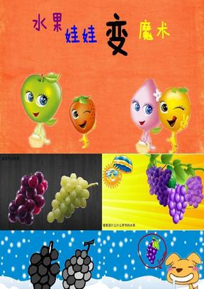 【幼儿园PPT课件】中班科学--水果和干果.ppt