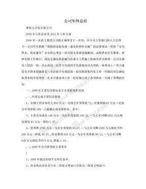 公司年终总结.doc