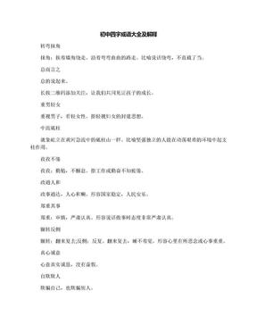 初中四字成语大全及解释.docx