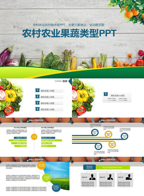 农村农业果蔬类型PPT.pptx