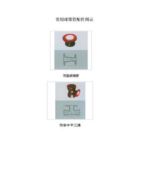 球墨管及常用球墨管配件名称配图片.doc