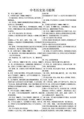 中考历史复习提纲.doc