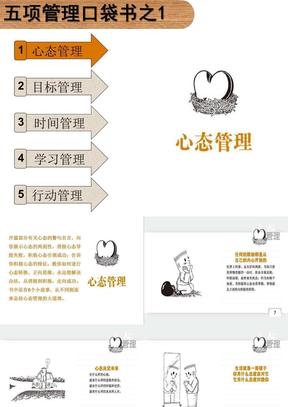 五项管理口袋书之一:心态管理.ppt